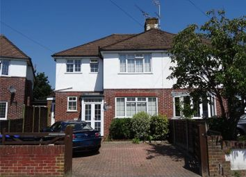 Thumbnail 3 bedroom semi-detached house for sale in Broomfield Avenue, Tarring, Worthing