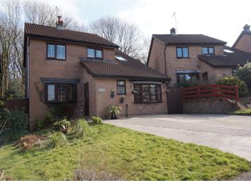 Thumbnail 4 bed detached house for sale in The Hollies, Brynsadler, Pontyclun