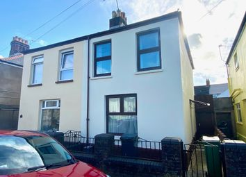 Thumbnail 2 bed semi-detached house for sale in Wyndham Street, Cardiff