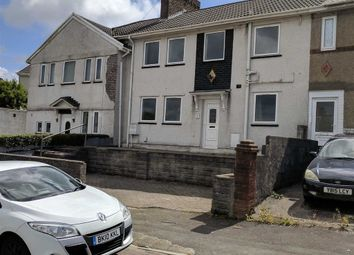 Thumbnail 3 bedroom terraced house for sale in Llwyn Bedw, Swansea