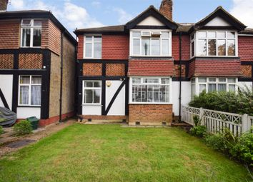 Thumbnail 2 bed flat for sale in Abbott Avenue, London
