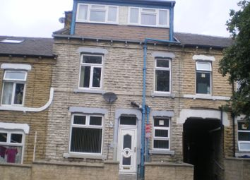 Thumbnail 4 bed terraced house to rent in Thursby Street, Bradford