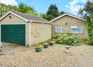 Thumbnail 2 bed detached bungalow for sale in Fen Road, Newton, Wisbech