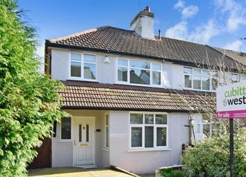 Thumbnail 3 bed end terrace house for sale in Milton Road, Caterham, Surrey