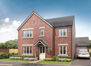 "Thumbnail 5 bedroom detached house for sale in ""The Corfe"" at Clehonger, Hereford"