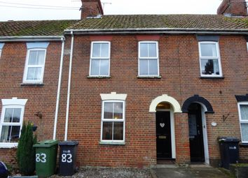Thumbnail 2 bed terraced house to rent in West End, Northwold, Thetford