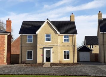 Thumbnail 4 bed detached house for sale in Nursery Lane, South Wootton, Norfolk
