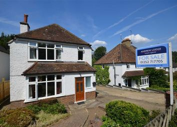 Thumbnail 3 bed detached house for sale in Burnt Hill Road, Lower Bourne, Farnham