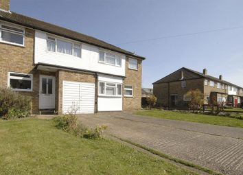 Thumbnail 3 bed semi-detached house to rent in Sidney Road, Walton-On-Thames