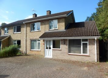 Thumbnail 3 bed semi-detached house to rent in St. Andrews Place, Melton, Woodbridge