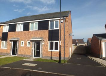 Thumbnail 3 bed semi-detached house for sale in Friars Way, Newcastle Upon Tyne