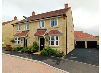 Thumbnail 2 bed semi-detached house to rent in Penstones Court, Marlborough Lane, Stanford In The Vale, Faringdon