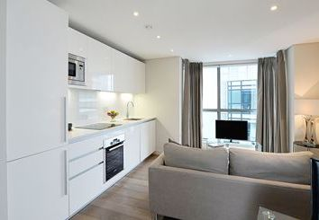 Thumbnail 2 bed flat to rent in Merchant Square, London