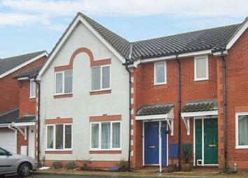 Thumbnail 3 bed terraced house to rent in Bramble Court, Brampton, Huntingdon