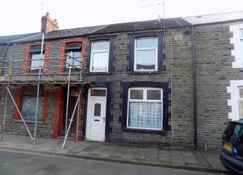 Thumbnail 3 bedroom terraced house for sale in David Street, Treherbert, Treorchy, Rhondda, Cynon, Taff.