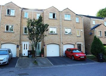 Thumbnail 3 bed town house for sale in Rosevale View, Sowerby Bridge