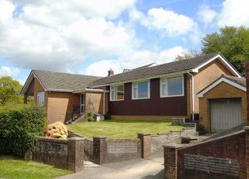 Thumbnail 3 bed detached bungalow for sale in Tonypistyll Road, Newbridge, Nr Blackwood