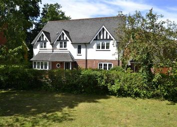 Thumbnail 4 bed detached house for sale in Woolton Lodge Gardens, Woolton Hill, Berkshire