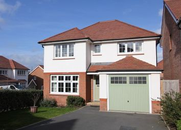 Thumbnail 4 bed detached house for sale in Clover Way, Newton Abbot