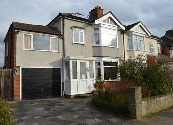Thumbnail 4 bed semi-detached house for sale in Rosslyn Avenue, Harold Wood, Romford
