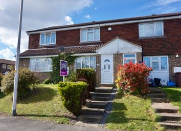 Thumbnail 2 bed terraced house for sale in Chaffinch Close, Walderslde Chatham