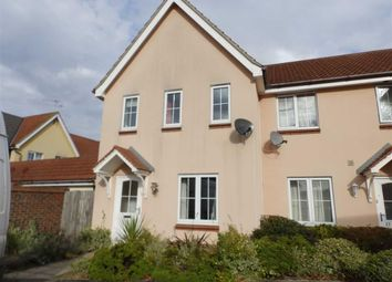 Thumbnail 3 bed end terrace house for sale in Spindler Close, Kesgrave, Ipswich
