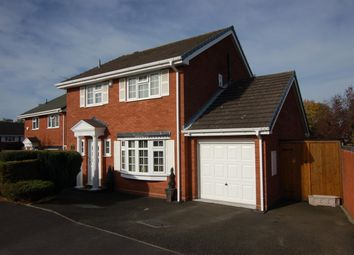 Thumbnail 4 bed detached house for sale in Wharfedale Close, Wall Heath