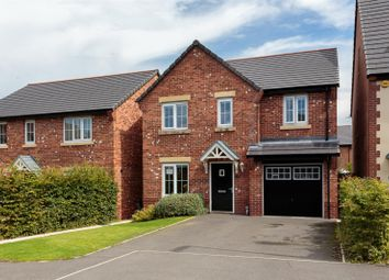 Thumbnail 4 bed detached house for sale in Gibson Close, Tarvin, Chester