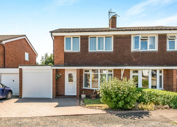 Thumbnail 3 bed semi-detached house for sale in Brookhouse Way, Gnosall, Stafford