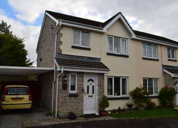 Thumbnail 3 bed semi-detached house for sale in Heol Ger Y Felin, Llantwit Major