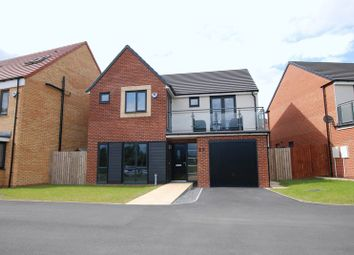 Thumbnail 4 bedroom detached house for sale in Sir Bobby Robson Way, Newcastle Upon Tyne