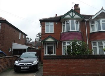 Thumbnail 3 bed semi-detached house for sale in Harewood Road, Doncaster