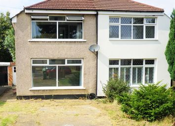 Thumbnail 3 bed semi-detached house to rent in Wyncham Avenue, Sidcup