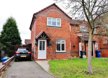 Thumbnail 2 bed end terrace house for sale in Somerset Close, Fazeley, Tamworth, Staffs