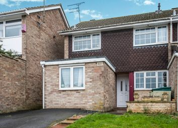 Thumbnail 4 bed end terrace house for sale in Bute Close, Highworth, Swindon