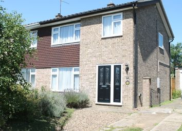 Thumbnail 3 bedroom semi-detached house for sale in Waveney Heights, Brockdish, Diss