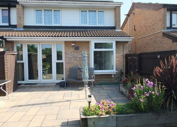 Thumbnail 3 bedroom end terrace house for sale in Beckingham, Orton Goldhay, Peterborough