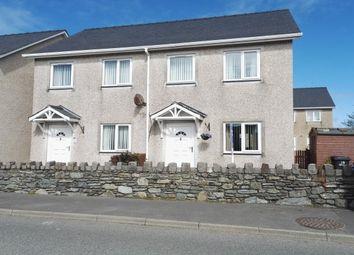 Thumbnail 2 bed semi-detached house to rent in Llys Y Meddyg, Bodedern, Holyhead