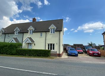Thumbnail 3 bed semi-detached house for sale in Stowmarket Road, Old Newton, Stowmarket
