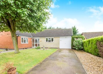 Thumbnail 3 bed detached bungalow for sale in Hursley Close, Oadby, Leicester