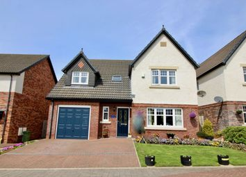 Thumbnail 4 bed detached house for sale in Kirkland Fold, Wigton