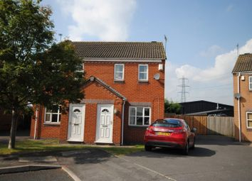 Thumbnail 2 bed semi-detached house to rent in Gasny Avenue, Castle Donington, Derby