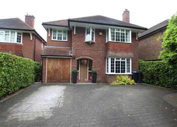 Thumbnail 4 bed detached house to rent in Woodham Road, Horsell, Woking