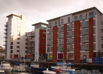 Thumbnail 2 bed flat to rent in Meridian Wharf, Trawler Road, Swansea.