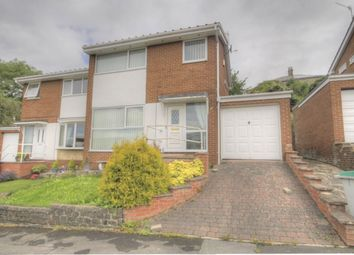 Thumbnail 3 bed semi-detached house for sale in Priory Close, Shotley Bridge, Consett