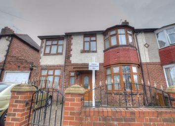 Thumbnail 5 bedroom semi-detached house for sale in Fenham Hall Drive, Fenham, Newcastle Upon Tyne