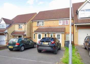 Thumbnail 2 bed terraced house for sale in Dunraven Avenue, Luton