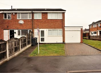 Thumbnail 3 bed end terrace house for sale in Heather Croft, Birmingham