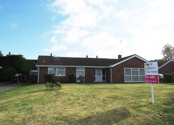 Thumbnail 3 bed detached bungalow for sale in Poplar Drive, South Wootton, King's Lynn