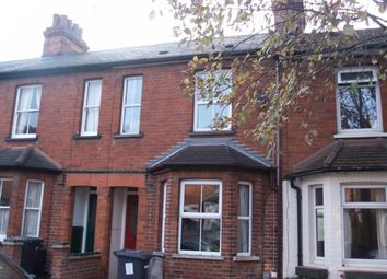 Thumbnail 3 bed terraced house to rent in Dudley Street, Bedford